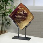 Bronze Iridescence Artistic Glass Awards
