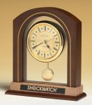 Arched Pendulum Clock Boss Gift Awards