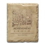 Sandstone Plaque Employee Awards